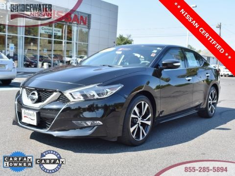 Certified Pre-Owned 2016 Nissan Maxima 3.5 SV FWD 4D Sedan