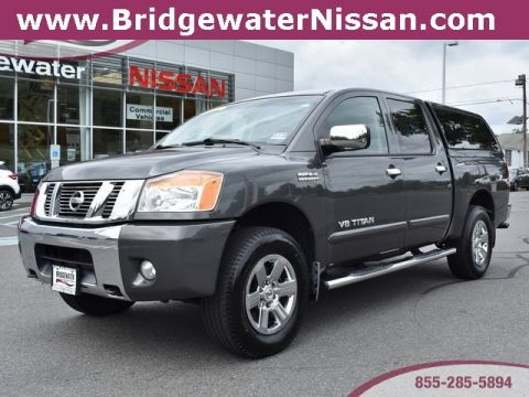 Pre-Owned 2012 Nissan Titan SV 4WD