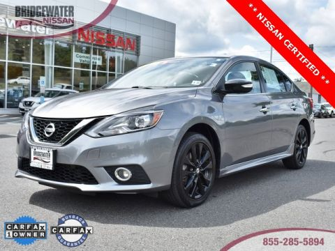 Certified Pre-Owned 2017 Nissan Sentra SR FWD 4D Sedan